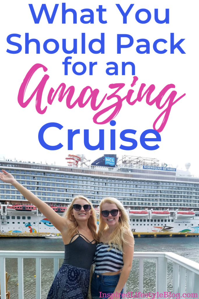what to pack for a cruise, cruise packing list, cruise packing ideas, ideas of what to pack for a cruise, travel tips, cruise vacation, cruise tips