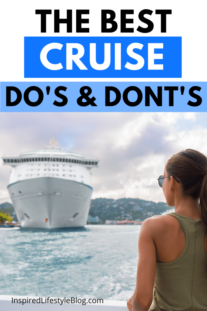 cruise dos and donts