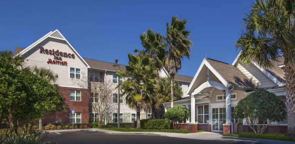 Juniper Springs, photo of the outside of the Residence Inn hotel